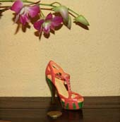 Коллекция миниатюрной обуви Just the Right Shoe