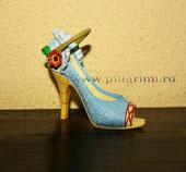 сувенирная,миниатюрная туфелька,в коллекции Берген Юлии