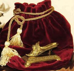 антикварная миниатюрная туфелька,в коллекции Берген Юлии
