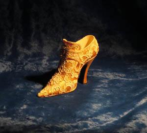 сувенирная миниатюрная туфелька